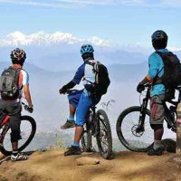 mountain-biking